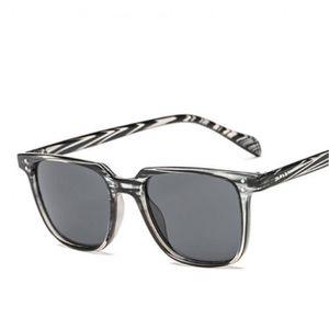 LUNETTES DE SOLEIL lunette homme carré gris
