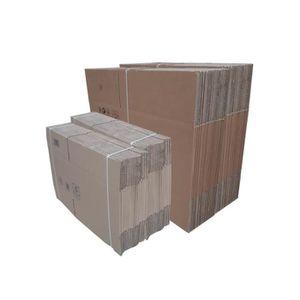 cartons de d m nagement achat vente cartons de d m nagement pas cher soldes d s le 27. Black Bedroom Furniture Sets. Home Design Ideas