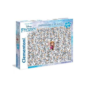PUZZLE Impossible puzzle 1000 pieces la reine des neiges