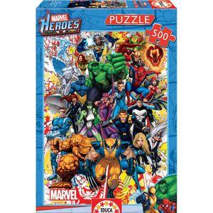 PUZZLE DISNEY MARVEL Puzzle 500 Pièces - Les Héros De Mar