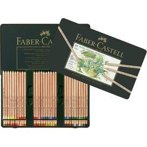 PASTELS - CRAIE D'ART FABER-CASTELL Boîte de 60 Crayons pastel Pitt