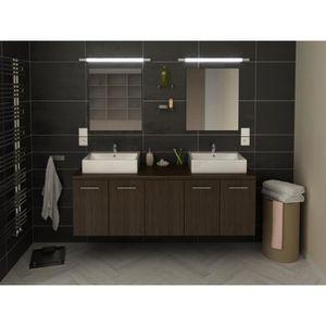 meuble de salle de bain julie double vasque 150 cm Résultat Supérieur 17 Incroyable Meuble Double Vasque Suspendu Photographie 2018 Kae2