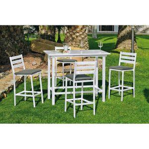 Table bar chaises - Achat / Vente pas cher
