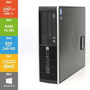UNITÉ CENTRALE  Pc bureau hp elite 8200 core i5 16go ram 240go SSD