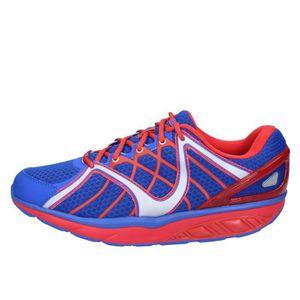 BASKET MBT Chaussures Homme Baskets  Bleu BT24