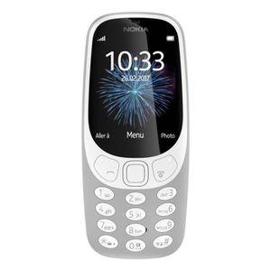 Téléphone portable Nokia 3310 (2017) Gris - Tout Opérateurs