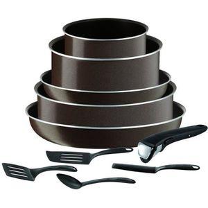BATTERIE DE CUISINE TEFAL L2079602 Ingeio essential Batterie de cuisin