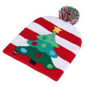 3fb173d6dd623 BONNET - CAGOULE TEMPSA Chapeau de Bonnet Tricoté de Noël Hiver Un