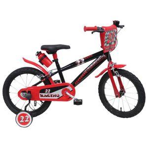 """VÉLO ENFANT ORUS Vélo 16"""" Racing Enfant 4/7 ans tout équipé"""
