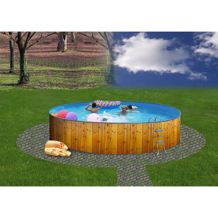 veta piscine en acier circulaire 400x90 o trouver loffre piscine hors sol acier liner 75 100 - Liner Piscine Hors Sol Ronde 75 100
