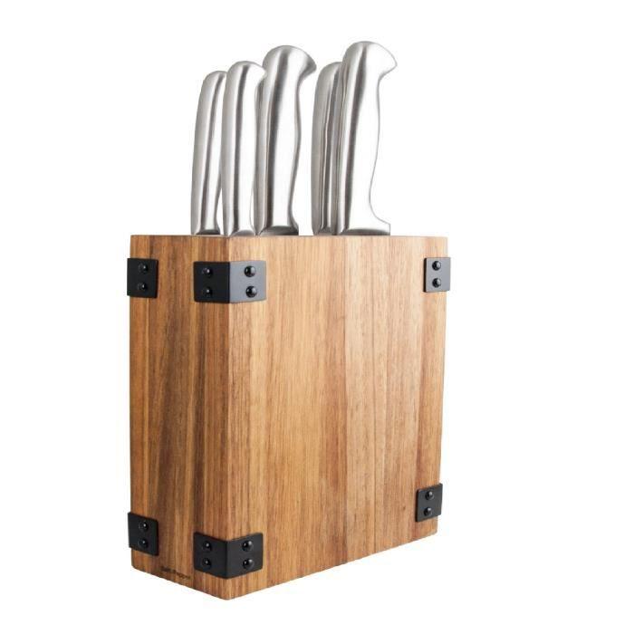 SP Bloc couteau Butcher - 6 pièces