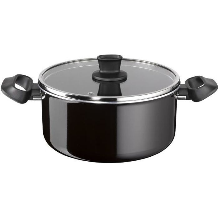 TEFAL SO INTENSIVE GV5 Faitout 24cm + Couvercle D5034602 Tous feux sauf induction