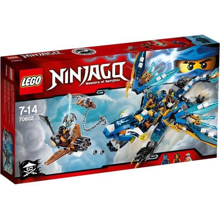 lego ninjago 70602 le dragon l mentaire de jay achat vente assemblage construction cdiscount. Black Bedroom Furniture Sets. Home Design Ideas