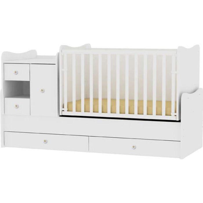 lit bebe 3 dans 1