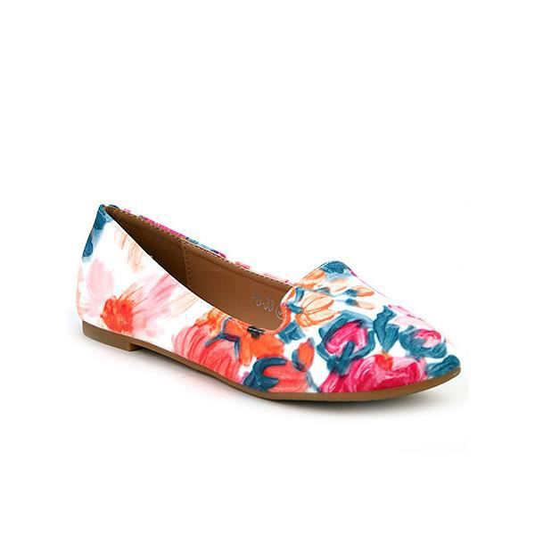 Ballerines Multicolore Chaussures Femme, Cendriyon