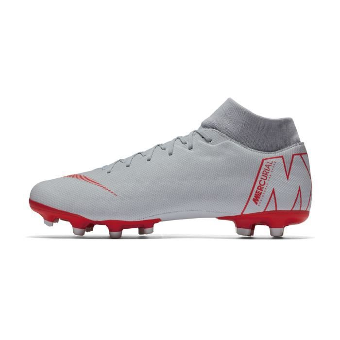 Gris Chaussures Academy Df Football Mercurial Superfly Vi Nike Mg QexCdBEroW