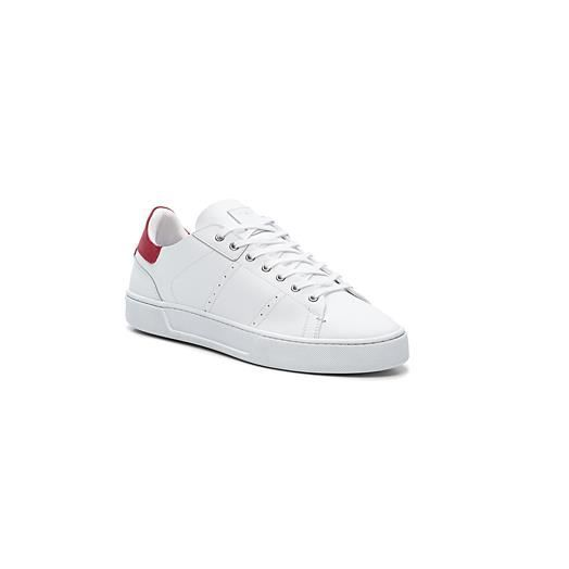 605c871053bb THE KOOPLES - Basket Pointure 42 BLANC ROUGE Men's Lace-Up Leather ...