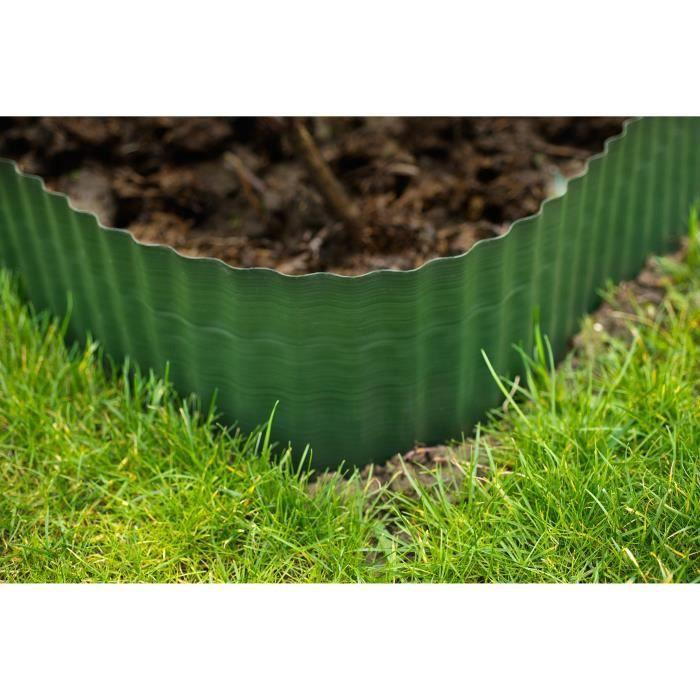 Bordure de jardin pvc - Achat / Vente pas cher
