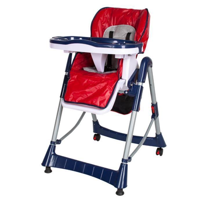 CHAISE HAUTE Chaise Haute Pour Bb Enfant Grand Confort Pliabl