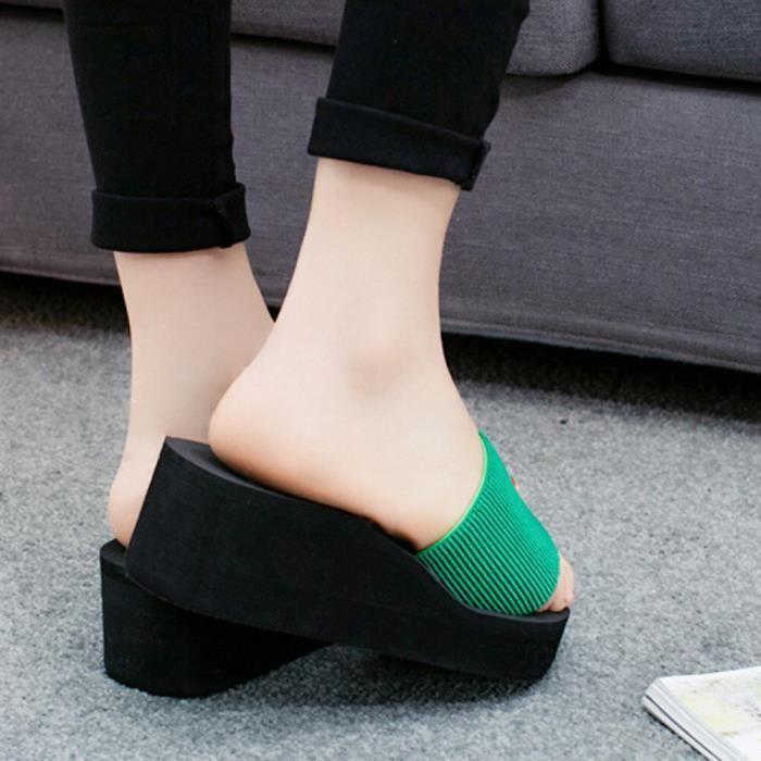 8145 Intérieur Tongs Femmes Sandales D'été Extérieur Les Chausson Plage Chaussures De Svqfx