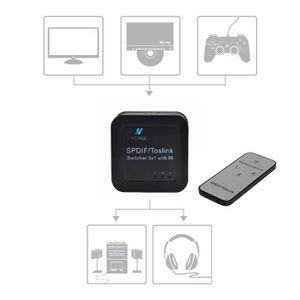 REPARTITEUR TV Commutateur Switch Audio Digital -  Répartiteur po