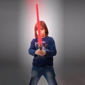 BÂTON - ÉPÉE - BAGUETTE Sabre laser lumineux et sonore rouge * Matière : p