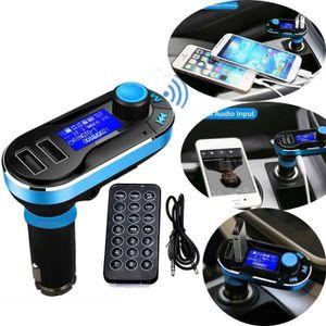 TRANSMETTEUR FM AZTEK® Voiture Bluetooth Lecteur MP3 Transmetteur