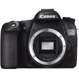 APPAREIL PHOTO RÉFLEX Reflex Canon EOS 70D Boîtier Nu WiFi intégré