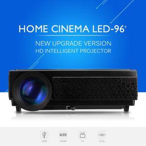 Vidéoprojecteur Excelvan Vidéo Projecteur LED 96+ 1080p Coup de Mo