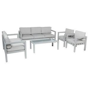 Salon de jardin aluminium 4 places - Achat / Vente Salon de jardin ...