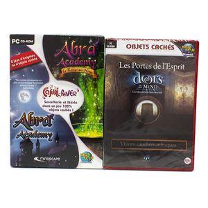 JEU PC Pack 3 jeux objets cachés et intrigues volume 2