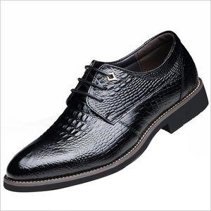 DERBY Derby Homme Cuir Chaussures De Ville Hommes à L...