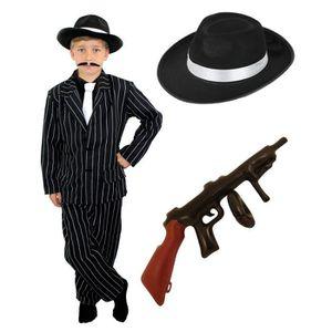 DÉGUISEMENT - PANOPLIE Déguisement de gangster pour enfant avec ce costum