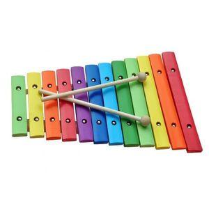 INSTRUMENT DE MUSIQUE Xylophone jouet 12 tons bois coloré