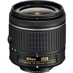 OBJECTIF NIKON AF-P DX NIKKOR 18-55mm f/3.5-5.6G