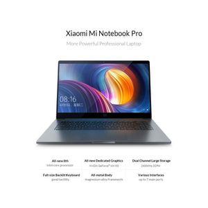 """ORDINATEUR PORTABLE Xiaomi Mi Notebook Pro 15,6""""Windows 10 Intel Core"""