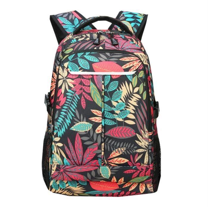 Hommes Femmes Sac à dos en tissu Oxford Épaules Sac Chic Voyage Daypack Sacs décole à la mode