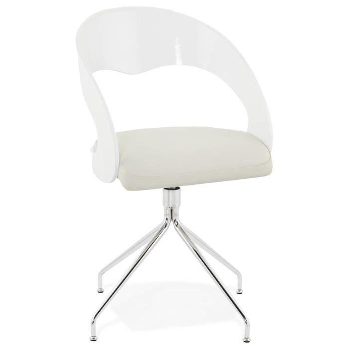 Chaise vintage blanche - Achat / Vente Chaise vintage blanche pas ...