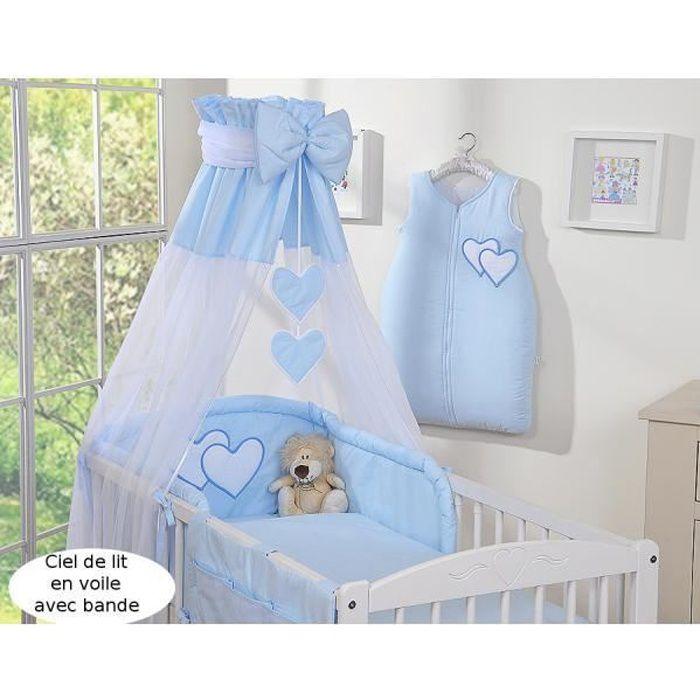 ciel de lit bebe bleu achat vente pas cher. Black Bedroom Furniture Sets. Home Design Ideas