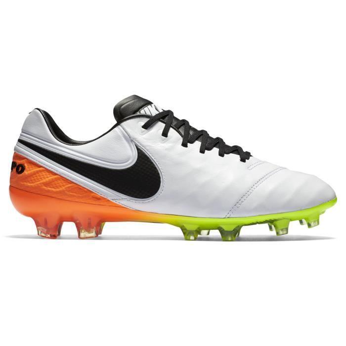 brand new 709cc 2f5b9 Chaussures football Nike Tiempo Legend VI FG Blanc