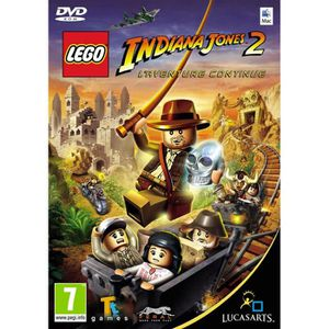 JEU PC LEGO INDIANA JONES 2 : L'aventure continue / JEU P