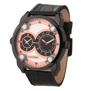 MONTRE LOUIS VILLIERS Montre Quartz AG373604 Bracelet Cui
