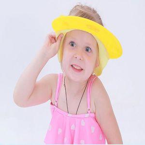 KIT BAIN BÉBÉ Bonnet de bain ajustable pour les enfants JAUNE TU 35227bf23c0