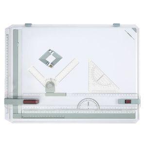 TABLE A DESSIN A3 Planche à dessin Multifonction plastique parall