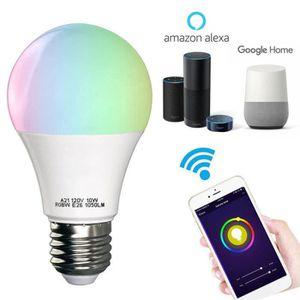 11w Intelligente Télécommande Juce® E27 Wifi Variable Et Connectée De Rgbw Multicolore Led Ampoule drCoxeWB