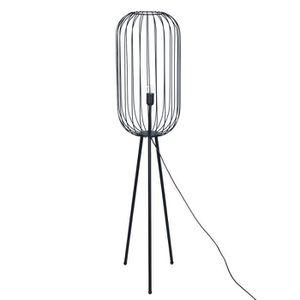 LAMPADAIRE 18660SG - Lampadaire, Métal Noir 135 cm - Noir - D