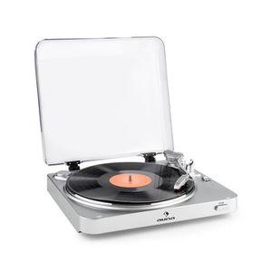 PLATINE VINYLE auna TT-30 BT - Tourne-disque platine vinyle Bluet