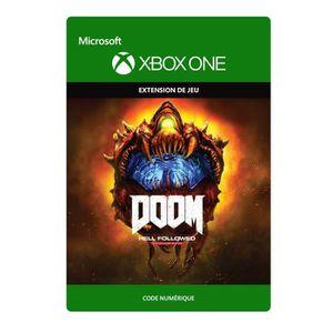EXTENSION - CODE DOOM Hell Followed Jeu Xbox One à télécharger