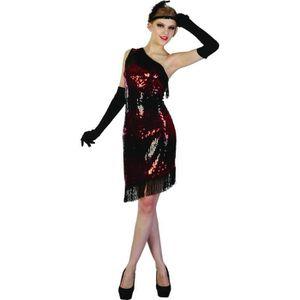 ad1ad41ed8d DÉGUISEMENT - PANOPLIE Déguisement charleston femme noir et rouge