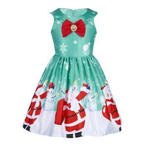 172e813a539f4 ROBE Robe Princesse Noël Fille Enfant - Jupe Déguisemen